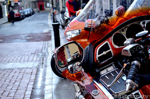 Ireland dublin motorcycle
