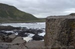 Ireland Giants Causeway view from rock