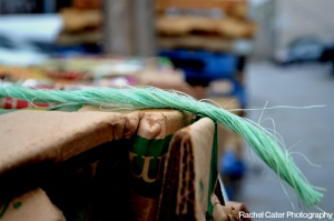 Close up photo of rope on scarded boxesToronto