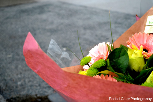 colour photoraph bouquet of flowers in Toronto