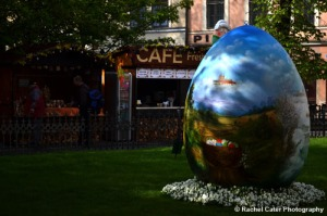 Easter Festival Prague Large Egg Rachel Cater Photography
