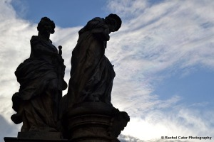Statue on Charles Bridge Rachel Cater Photography