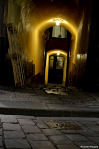 alley in the  old town stockholm Rachel Cater Photography