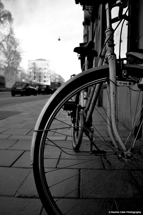 Bike in stockholm Rachel Cater Photography