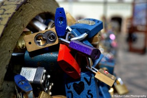 Bike Locks in Prague Rachel Cater Photography