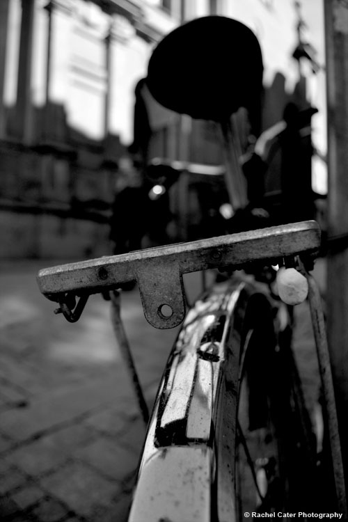 Bike resting in Old Town Stockholm Rachel Cater Photography