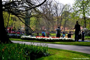 Tourists at the tulip festival Rachel Cater Photography
