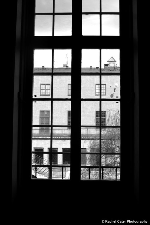 View through window in stockholm Rachel Cater Photography