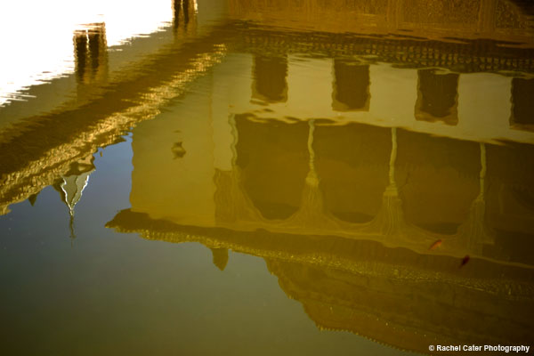 Alhambra Reflections in a Pond Rachel Cater Photography