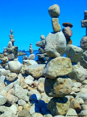 Inukshuk in Toronto Rachel Cater Photography