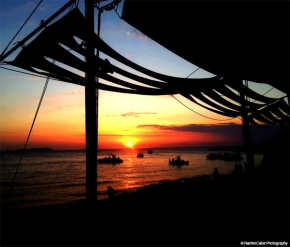 Sunset in Ibiza Spain Rachel Cater Photography