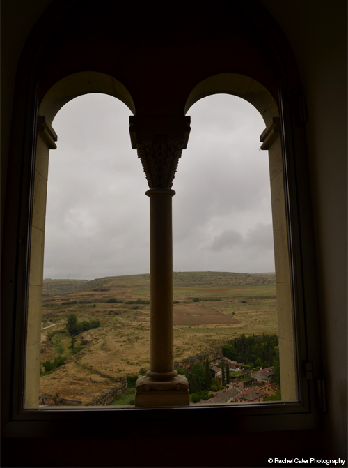 Castle View in Spain Rachel Cater Photography