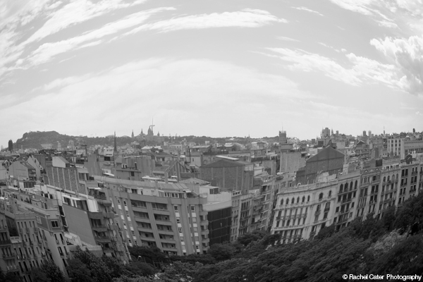AFish eyed view of Barcelona Rachel Cater Photographydd New Post ‹ Capturing Life One Photo at a Time — WordPress