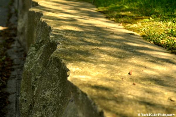 Rock bench Rachel Cater Photography