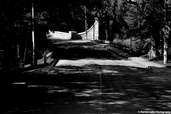 Shadowed Road Rachel Cater Photography