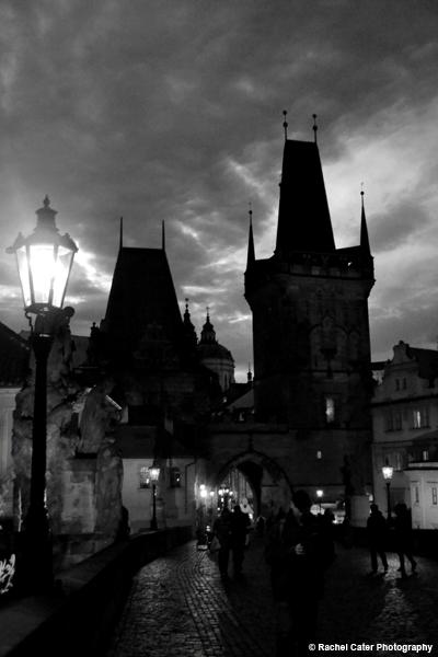 Charles Bridge in Prague Rachel Cater Photography