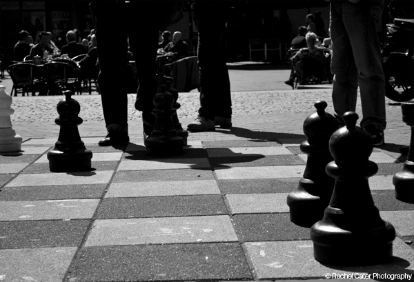 Chess game in amsterdam Rachel Cater Photography