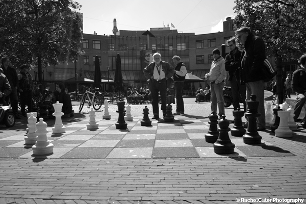 Chess Match in Amsterdam Rachel Cater Photography