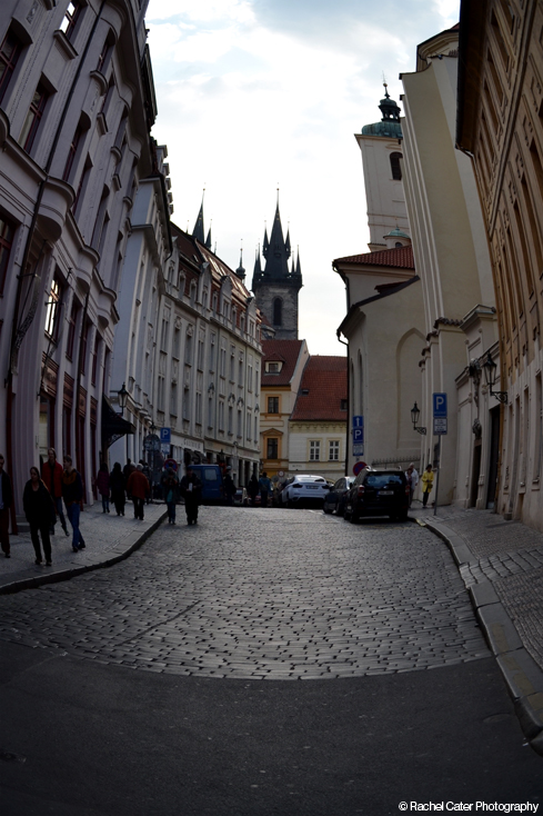 Fisheye view in Prague Rachel Cater Photography
