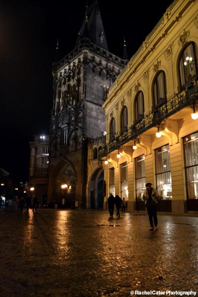 Prague at Night Rachel Cater Photography