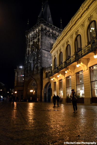 Prague at Night Rachel Cater Photography
