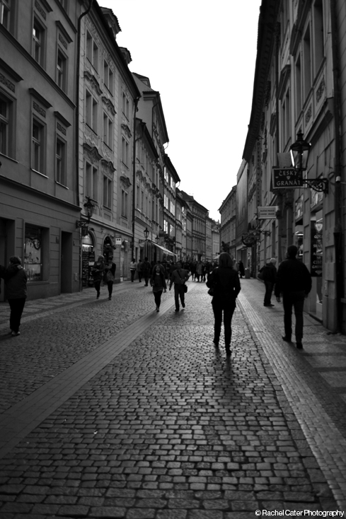 Streets in Prague Rachel Cater Photography