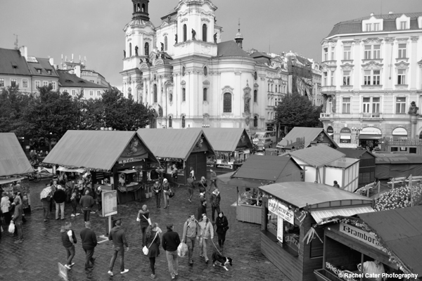 The Old Town Square Prague Rachel Cater Photography