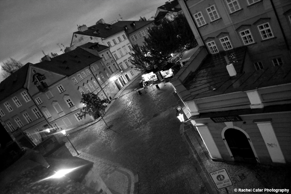 View from Charles Bridge in Prague Rachel Cater Photography