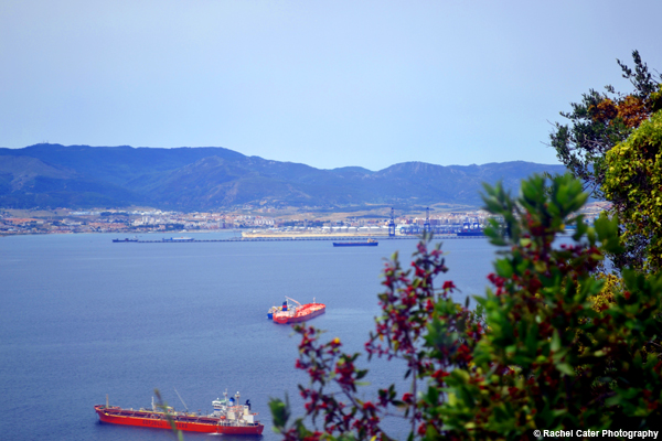 View in Gibraltar Rachel Cater Photography
