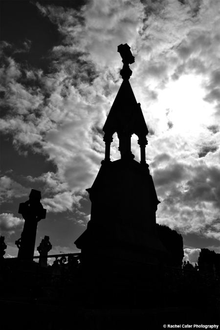 Cemetery in Ireland Rachel Cater Photography
