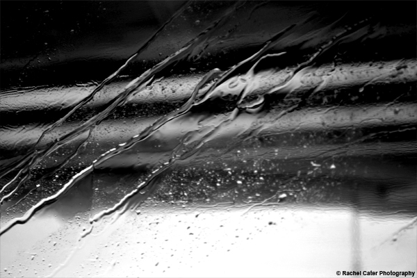 Rain on a window Rachel Cater Photography