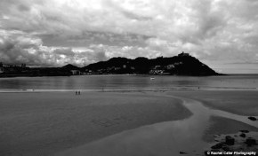 San Sebastian Spain B&W Rachel Cater Photography