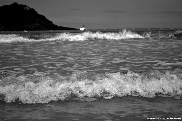 Spanish Beach Waves  Rachel Cater Photography