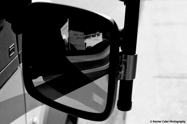Side Mirror Reflections Rachel Cater Photography