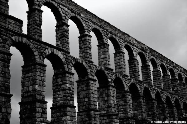 Aqueduct of Segovia  Rachel Cater Photography