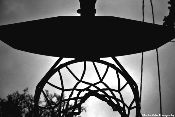 baseketball hoop net rachel cater photography