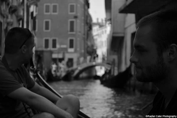 gondola ride in venice rachel cater photography