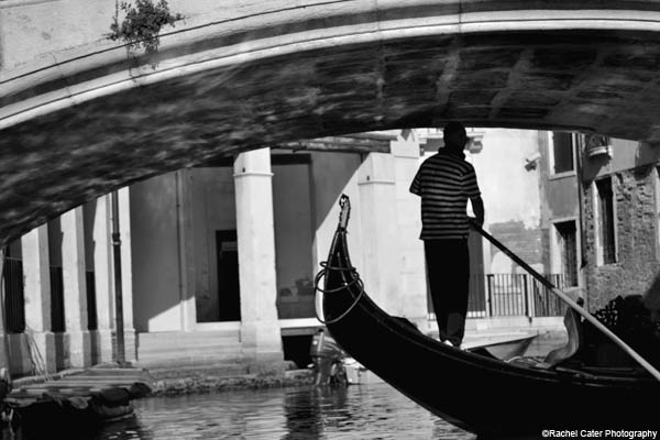 Venice gondolier rachel cater photography