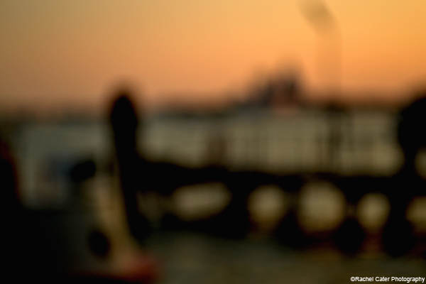 blurred sunset in venice rachel cater photography