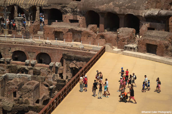rome colosseum Rachel Cater Photography
