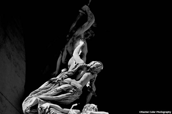 statue in Florence Rachel Cater Photography