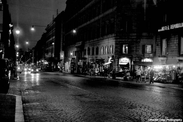 Street in Rome Rachel Cater Photography