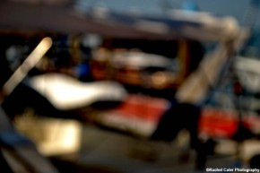 abstract blurred photo of boat rachel cater photography