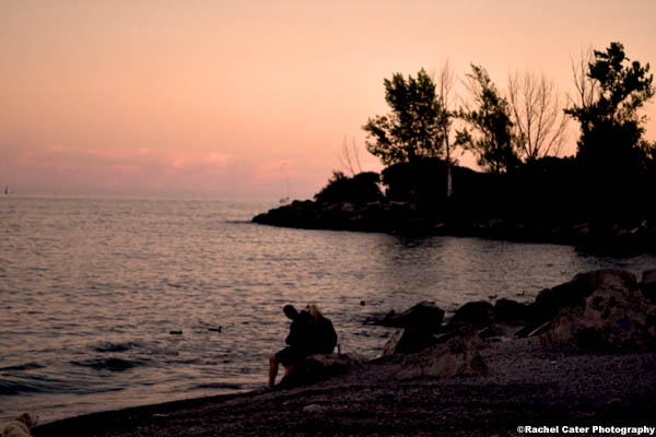 couple watching sunset rachel cater photography